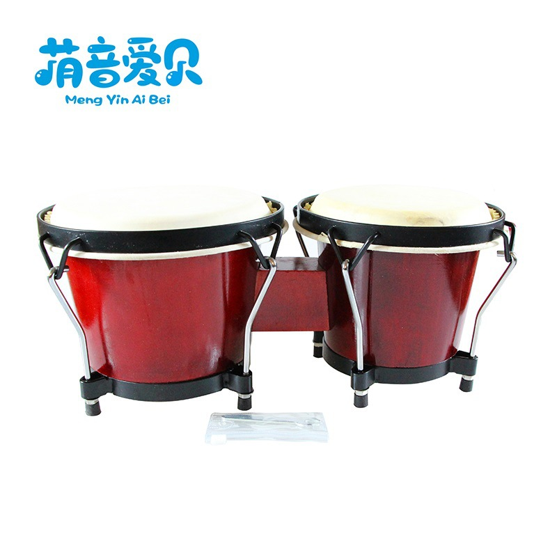 Educational Toy Kindergarten Music One-piece Drum Orff Percussion Instrument Children Early Education Instruments Bongo Drums