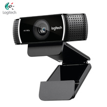 Logitech C922 PRO Webcam 1080P 30FPS Full HD Streaming Video Anchor Web Camera Autofocus Built in Stereo Microphone With Tripod