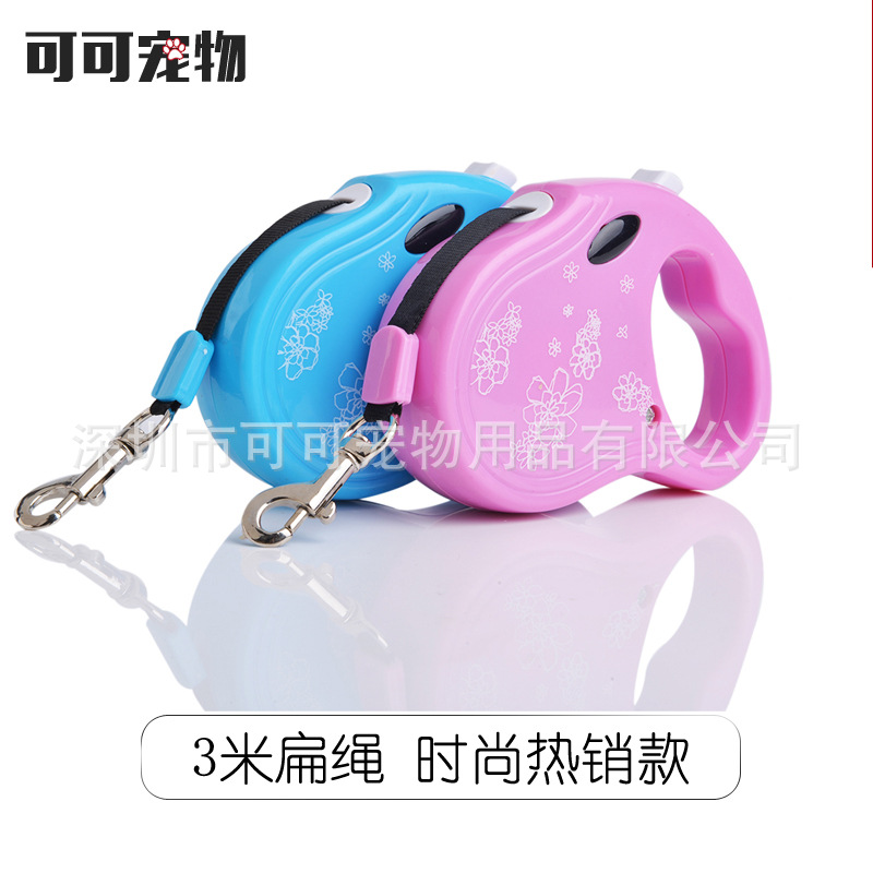 Hot Sales 3 M-Style Medium-small Automatic Retractable Pet Dog Maker Cat Liuwan Lanyard Traction Belt
