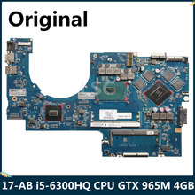 Lsc para hp pavilion 17-ab 17t-ab placa-mãe do portátil 862260-601 i5-6300HQ cpu gtx 965 m 4 gb dag37amb8d0(China)
