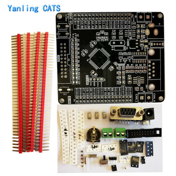 STM32 ARM Cortex M3 development board RS232 CAN RS485 MCU contoller LQFP64 pin chip discovery empty board Kit 1PCS Zl-05 цена 2017