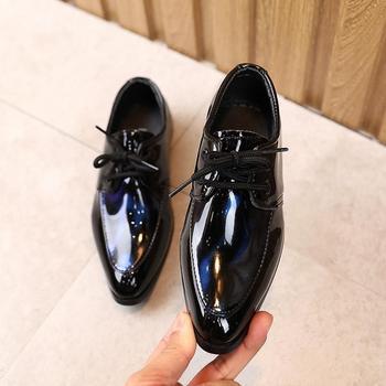 Boys Wedding-Party Flat Shoes