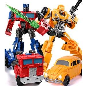 Image 2 - BMB Wei Jiang figuras de acción transformables de 20cm para niños y adultos, Robot de juguete, tanque, regalo para niños adultos, H6001 3 SS38