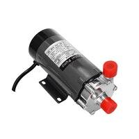 Beer Pump Home Brewing Stainless Steel Magnetic Pump Homebrew Food Grade High Temperature 140℃ Resisting Drive Pump