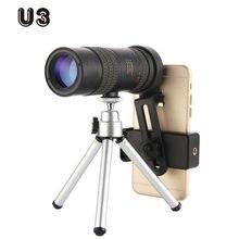 U3 высокое качество 4k 10 300x40mm super hd телефото зум Монокуляр
