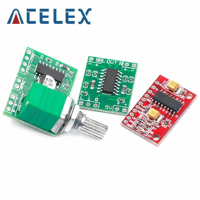 1 pces pam8403 super mini placa de amplificador de potência digital miniatura classe d placa de amplificador de potência 2*3 w alta 2.5-5 v usb