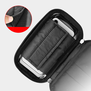 Image 5 - 6.4 inch Waterproof Bicycle Phone Holder Stand Motorcycle Handlebar Mount Bag Cases Universal Bike Scooter Cell Phone Bracket