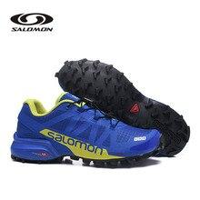 Salomon speed CROSS Pro 2 мужские кроссовки Красные Мужские дышащие фехтовальные кроссовки Salomon speed Cross 5 мужские кроссовки беговые кроссовки