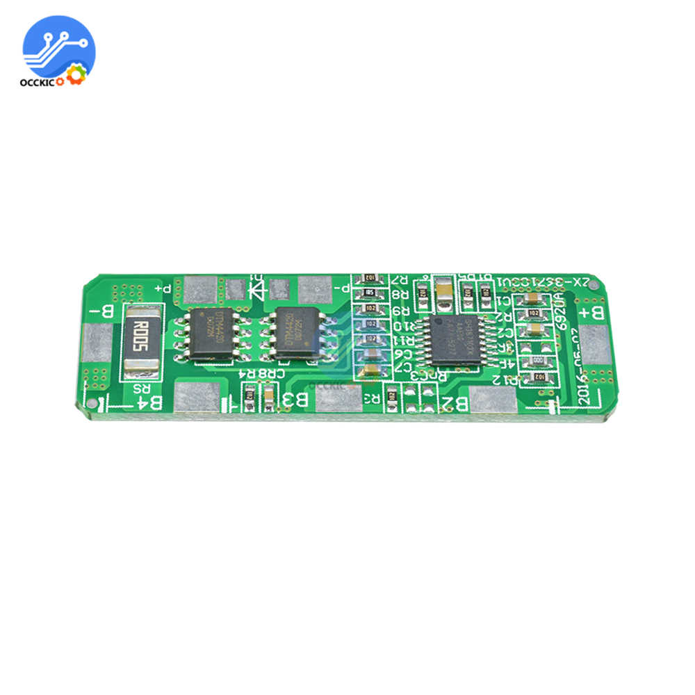 BMS 4S 3A 4A 5A 4.25-4.35V To 2.3-3.0V 18650 Lithium Battery Protection Board Power Bank Balance Overcharge For Motor Drill