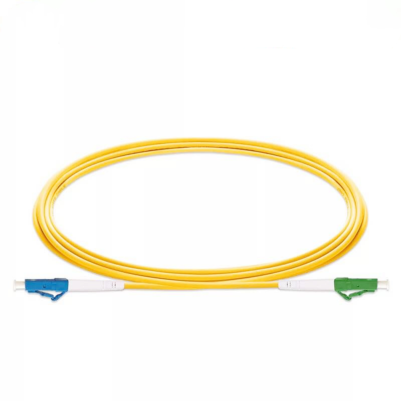 LC/ UPC-LC /APC Fiber Optic Patch Cord Simplex,Diameter 2mm Or 3mm, Single Mode Cord,Length 1M 2M 3M Or Accept Customization