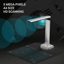 Aibecy BK30 камера для документов 5 мегапикселей высокой четкости портативный сканер книг размер захвата А4 сканеры для распознавания файлов