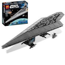 legoinglys Star Wars  05028 Set Execytor Super Star Destroyer Model Building Kit Block Bricks Toys kids gifts