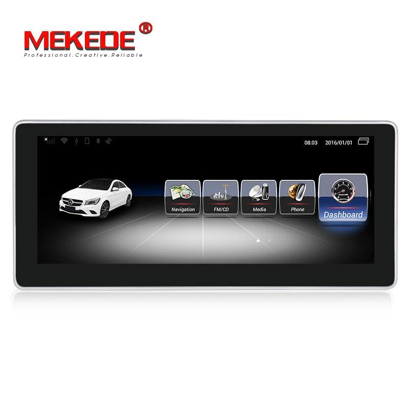 Pour Benz classe C W204 S204 2011-2013 autoradio gps navigation lecteur multimédia avec Android 4G LTE WiFi Bluetooth RDS carplay