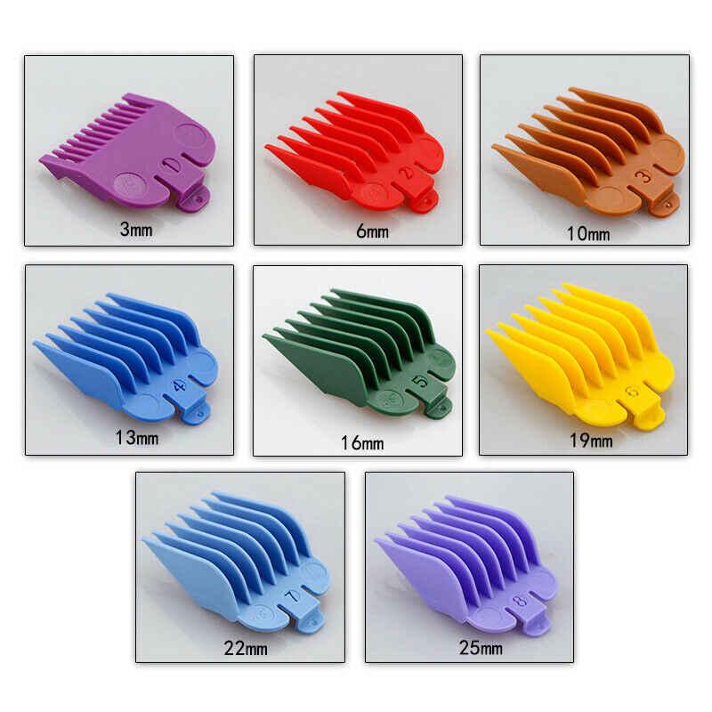 3/Chuyên Nghiệp 10 Chiếc Cắt Hướng Dẫn Lược Chải Tóc Hạn Chế Lược Nhiều Màu Sắc Tông Đơ Cắt Tóc Kiêm Máy Cạo Râu Máy 1.5 Mm 3 Mm làm Tóc Dụng Cụ