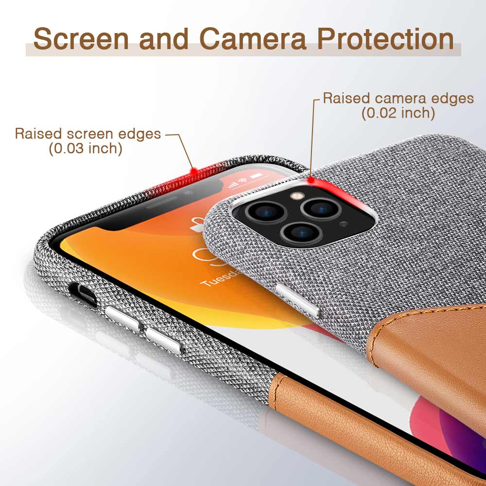 H89f5a9e8b6d740e9b15a3b63a7a76d44v ESR Case for iPhone 11 Pro XR XS Max Cover Brand Luxury Leather Card Slot Shockproof Business Wallet Case for iPhone 2019 iphon