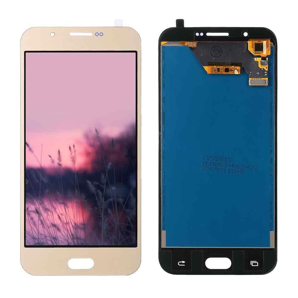 لسامسونج غالاكسي A8 2015 LCD A800 عرض A8000 A800F شاشة هاتف LCD مع مجموعة المحولات الرقمية لشاشة تعمل بلمس استبدال أجزاء