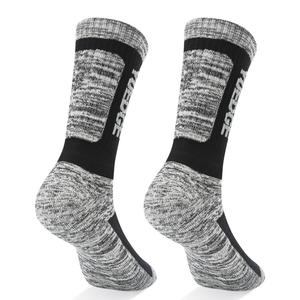 Image 5 - YUEDGE Brand Mens Socks Cushion Cotton Crew Outdoor Sports Walking Hiking Socks Thick Winter Warm For Men 5 Pairs