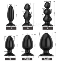6 Style And Sizes Silicone Anal Beads Butt Plug Dilatador Ass Dilator Erotic Toys Prostata Stimulator Porn Products Sex