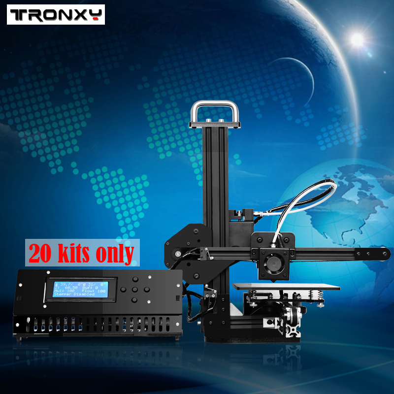 Tronxy Education 3d Printer DIY Kit High Precision Desktop Aluminium Profile 3d Imprimante X1 3d Machine