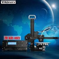 Tronxy Education 3d printer DIY kit High Precision desktop aluminium profile 3d Imprimante X1 3d Machine