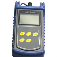 Original High Accuracy Optical Laser Source SM MM Fiber ST815 PON/Optical Instrument Multi wavelength Stable Light Meter