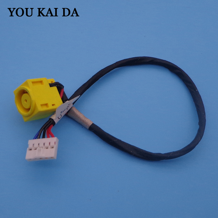 Laptop DC Power Jack With Cable For Lenovo B580 B485 B590 V580 M590 V580A V580C DC Jack  Power Cable DC Charging Connector Port