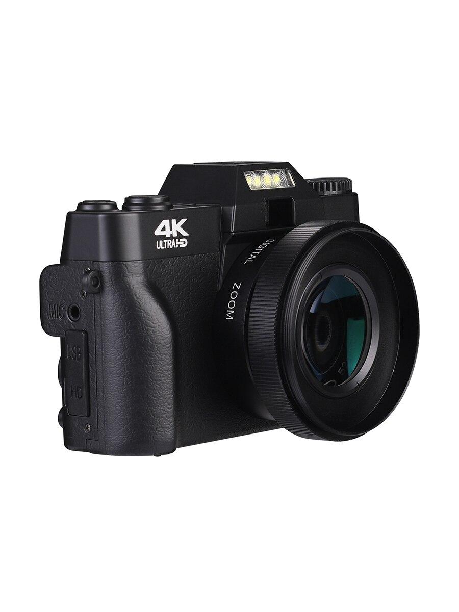KOMERY Digital Camera 4K Camera 3.0 Inch LCD Flip Screen Video Camera 16X Digital Zoom HD Output Support WiFi Selfie Cam-2