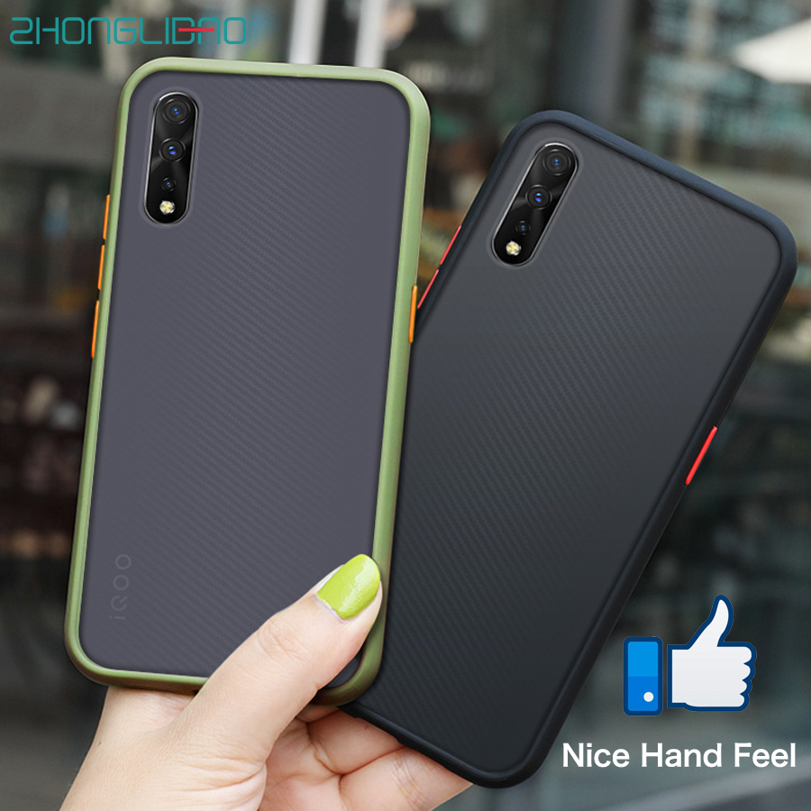 Phone Case For VIVO IQOO PRO 5G NEO S1 Y7S Z5 V17 NEO Z1X Z5X Z1 X27 Y93 Y91 Y95 V15 Y17 PRO Global Silicone Protection Cover