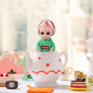16CM BJD Doll With 13 Moveable Joints Naked Nude Body Fashion Dolls Children DIY Toys Handmade Beautiful Dress Girls Gift(China)