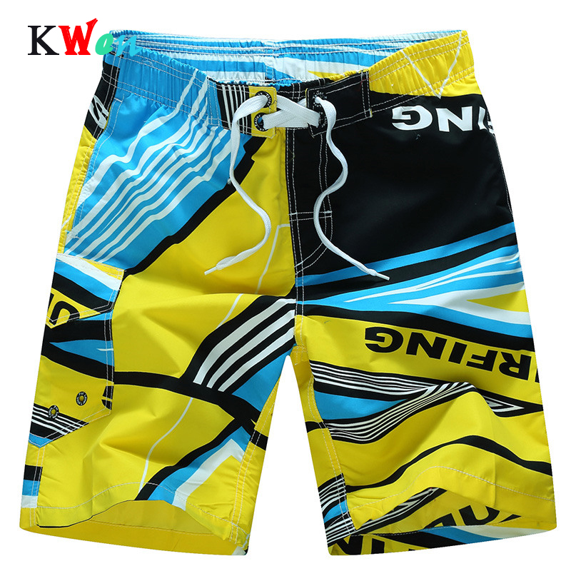 2019 Brand New Arrivals Board Shorts Casual Quick Dry Beach Shorts  Irregular Elastic Tide Man Beach Shorts Plus Size M-6XL