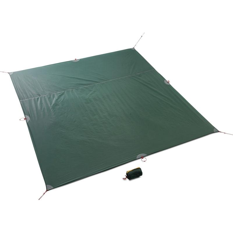 FLAME'S CREED Tarp Tent Floor Footprint Camping Beach Picnic Waterproof  Tarpaulin Sun Shelter