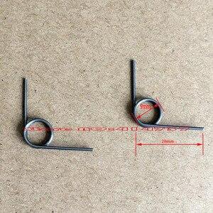 36pcs Spring steel torsion springs 0.8mm wire sping tensioning torsion spring
