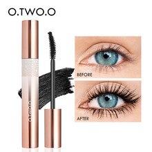 O.TWO.O makijaż tusz do rzęs 4D objętość rzęsy tusz do rzęs wydłużenie makijaż rzęs tusz do rzęs wodoodporny nieplamiący kosmetyki do oczu