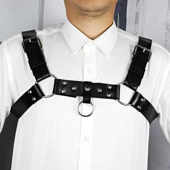 Leather Harness Intimo Sexy Erotico Bdsm Bondage Pastel Goth gg Belt The Shoulder Belt Men Wedding Garter Harajuku Set Suspender - DISCOUNT ITEM  43 OFF Apparel Accessories