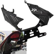Moto Parafango Staffa di Registrazione Supporto License Plate Frame per Honda CBR600RR CBR 600 RR 2007 2008 2009 2010   2012
