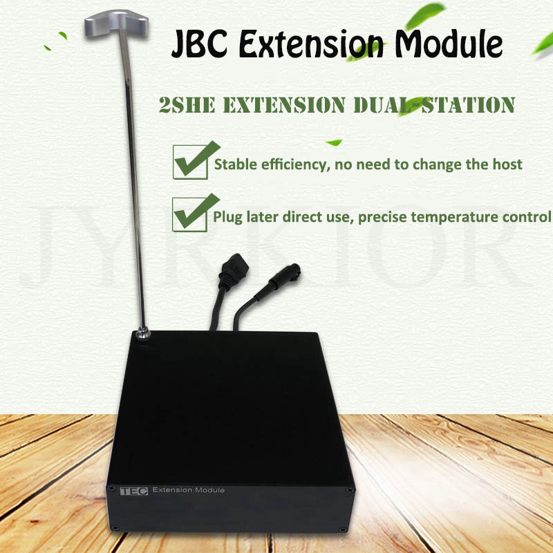 Jyrkior TEC Extension Module With T210 Holder For JBC Soldering Station Expansion Extender Double Soldering Station Box