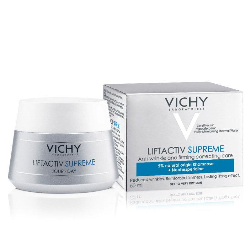 Vichy For Dry Skin Moisturizing Cream-Liftactive Hyaluronic Acid Contain Dry Skin Anti-wrinkle