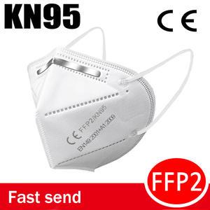Mouth Mask FILTER Ffp2 Facial KN95 Anti-Flu Bacteria Non-Woven