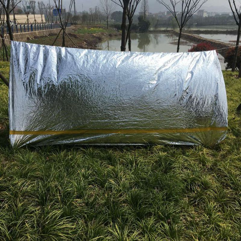Outdoor Survival Tent Emergency Tent Shelter Hiking Camping Tent Outdoor Emergency Tent For Cycling Camping Survival