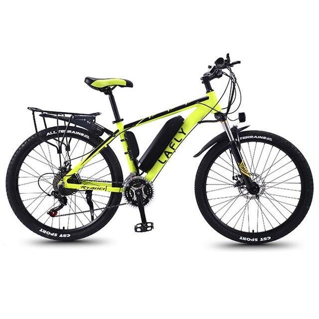 Duty free LAFLY 2021 NEW  electric bike 500W 36V Mountain Bike Electric Bicycle adult 26 Inch  e bike lithium battery 1