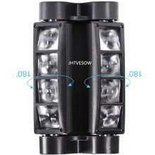 цена на beam spider 8 dmx stage effect mini moving head spider light led home party light