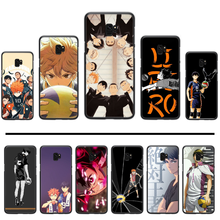 Anime Haikyuu Phone Case For Samsung Galaxy S5 S6 S7 S8 S9 S10 S10e S20 edge plus lite(China)