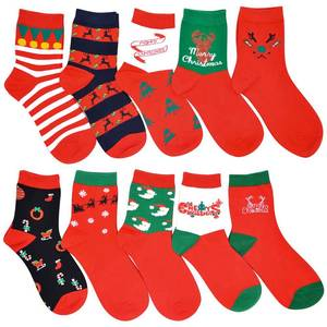 Deer Socks 1-Pair Winter Cotton Cartoon Casual Link-3 Keep-Warm