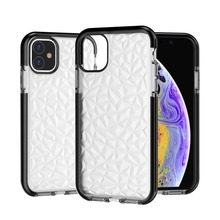 Fashion Transparent Phone Case for IPhone 11 Pro Max Cover Diamond Coque IPhone10 Fundas Soft Shockproof