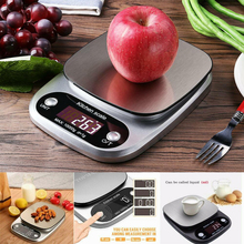 1g-10kg Digital Kitchen Food Scale LCD Electronic Kitchen Baking & Cooking High Precision Scales Houseware Kitchen Accessories digital kitchen food scale 22lbs 10kg precision food scale lcd display tempered glass surface touch screen
