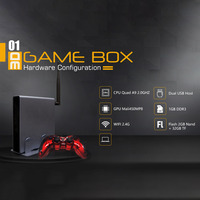 4K HDMI TV Gaming Host 2323 Games Emulator 3D Video Game Console Box With USB Wired Gamepad Controller EU US Plug