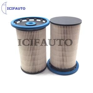 Image 2 - 2PCS Fuel Filter for Audi Q3 Seat Alhambra VW Passat CC Sharan Tiguan 2.0 TDI 7N0127177B 7N0127177