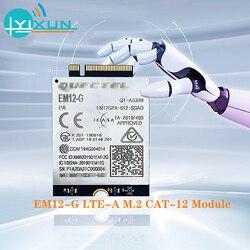 EM12-G EM12 LTE-A Cat 12 модуль LTE-FDD B1/B2/B3/B4/B5/B7/B8/B9/B12/B13/B14/B17/B18/B19/B20/B21B25/B26/B28/B29/B30/B32/B66