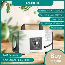 Pcltsllk 32g gerador de ozônio 220v máquina purificador ar desinfecção esterilização limpeza formaldeído desodorize
