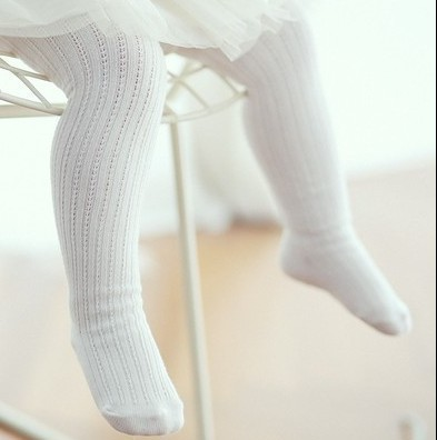 2018 South Korea New Style Spring And Autumn Children Cotton Panty-hose Vertical Striped Mesh BABY'S Socks Anti-mosquito Anti-sl